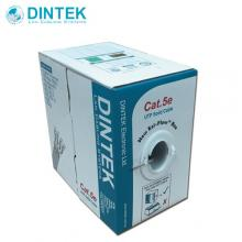 DINTEK Cat.5e 4P UTP Solid Cable, 24AWG PVC -305M (1101-03331)